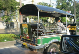 "Tuk Tuk. The Only Thai Made ""Car"" - Used As Taxi's"