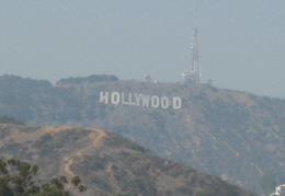 The Hollywood sign. Never had time to walk up there