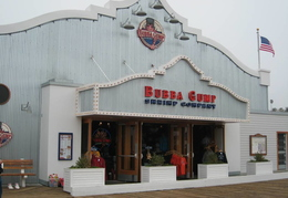 Santa Monica Pier (The Bubba Gump Shrimp Shop) - Forest Gump