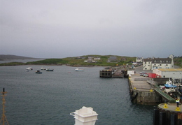 Lochboisdale - ferry then carried on to Castle Bay on Barra