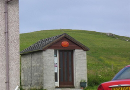 Vatersay Village Post Office!