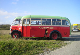 Classic bus at Howmore