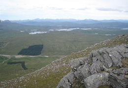 View up Ranoch Mor