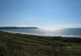 Looking towards Baggy Point from Woolacombe