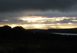 Sunset on the Mull