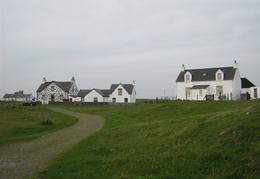 Interesting houses on Tiree
