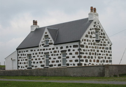 Typical Tiree Brickwork