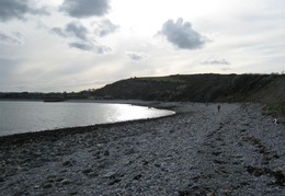 Snony Beach On Anglesey