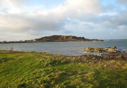 View Across to  Easdale Island From Easdale (Before the weather turned)