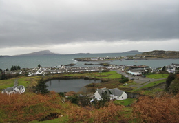 Easdale Village with Island Beyond