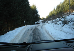 I dont mind driving on snow, it was the ice that was the challenge!