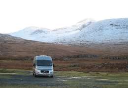 Parked up with Ben More behind