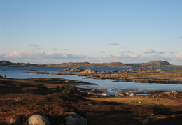 View over to Iona