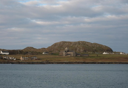 The famous Abbey on Iona