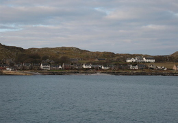 Approaching Iona on the Ferry