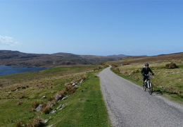 Cycling to Lochinver (in search of pies!)