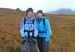 Sunday: Lucy & Shazza Slopes of Cul Beag