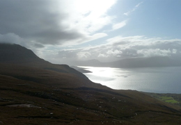 Monday: Sea views climbing Ben More Coigach