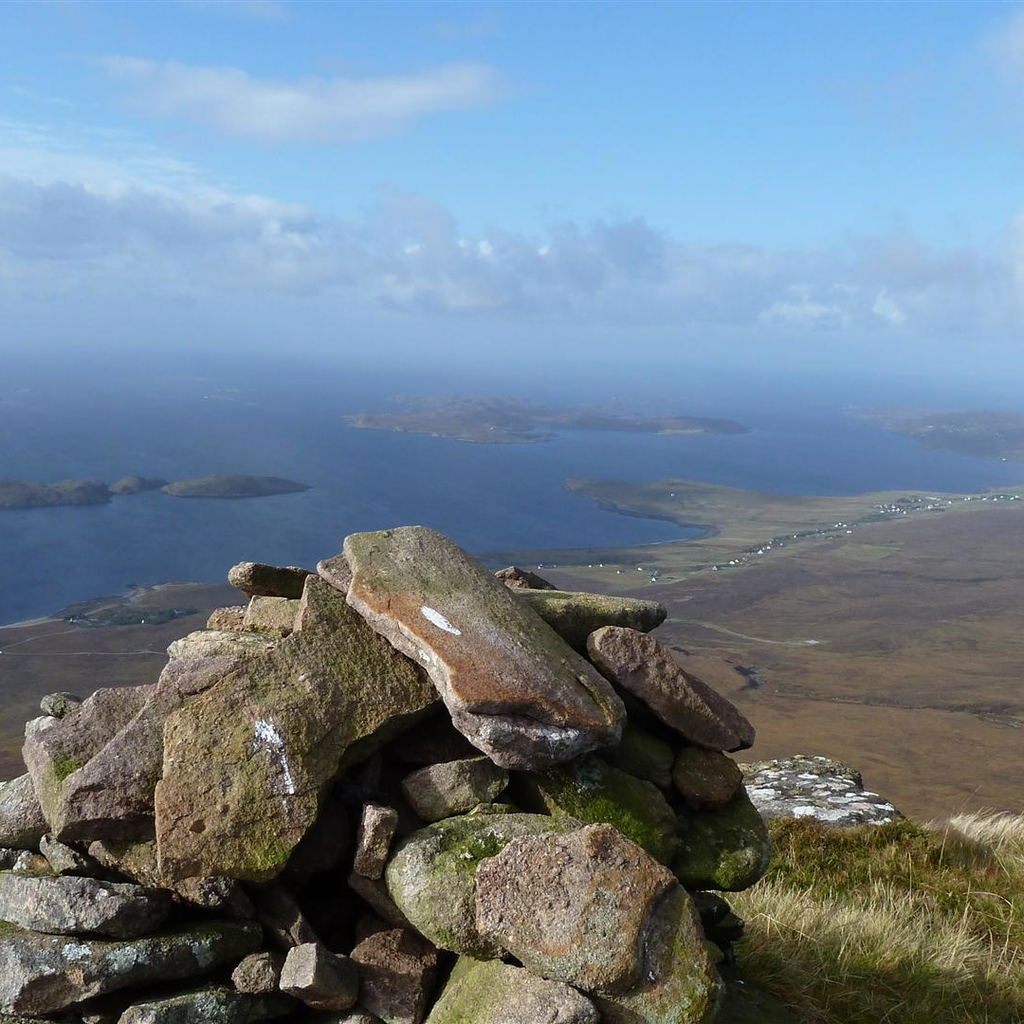 Top of Cairn Conmheall