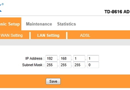 ADSL Modem Setup For PPPoE From Router