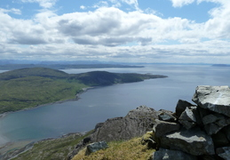 View From Sgurr Na Stri back towards Elgol