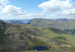 Loch Duich in distance