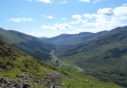 Day 4: 5 Sisters - View Up Glen Shiel