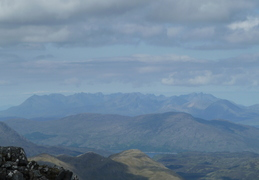 Skye Ridge In Distance