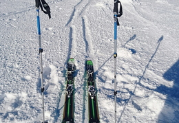 New skis!